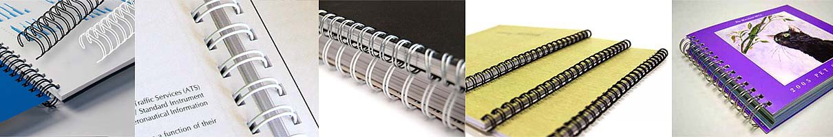 metal ring binding